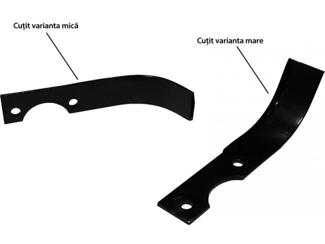 Cutit freze motocultor, lungime 22 cm (varianta mare), Rotakt