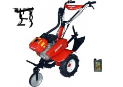 Motocultor Rotakt ROG80-T3, 7 CP, 3 viteze, carcasa transmisie fonta + Prasitoare + Cadou ulei