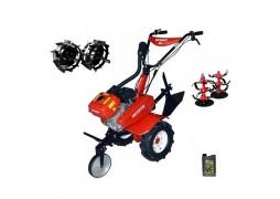 Motocultor Rotakt ROG80, 7 CP, carcasa transmisie fonta, filtru de aer dual, + Roti metalice + Cadou ulei