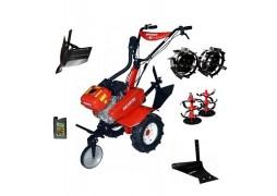 Motocultor Rotakt ROG80, 7 CP, carcasa transmisie fonta + Plug de arat + Roti metalice + Rarita + Cadou ulei