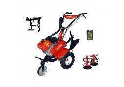 Motocultor Rotakt ROG80 (RO80), 7 CP, carcasa transmisie fonta + Prasitoare + Cadou ulei