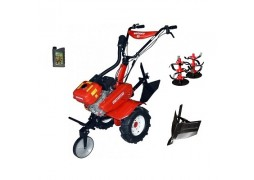 Motocultor Rotakt ROG80, 7 CP, carcasa transmisie fonta + Rarita + Cadou ulei