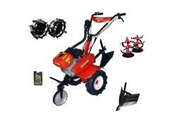 Motocultor Rotakt ROG80, 7 CP, 3 viteze, carcasa transmisie fonta + Rarita + Roti metalice + Cadou ulei