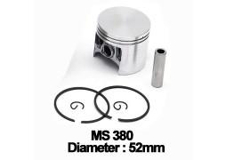 Piston complet drujba Stihl: MS 380, 381 (52mm)