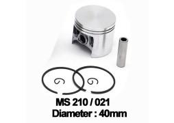 Piston complet drujba Stihl: MS 210, 021 (40mm)
