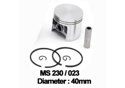 Piston complet drujba / motocoasa Stihl: MS 210, 230, 021, 023, FS 400 (40mm)