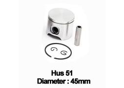 Piston complet drujba Husqvarna 51 (45mm)