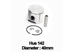 Piston complet drujba Husqvarna: 141, 142 (40mm)