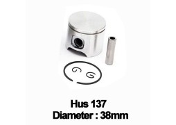 Piston complet drujba Husqvarna 136, 137 (38mm)