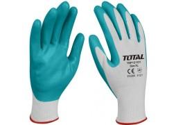 Manusi de protectie - nitril + textil - XL Total