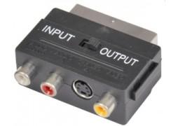 Adaptor Scart -> (3 X Rca) + (1 X S-Video)