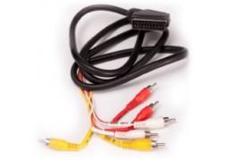 Cablu Scart -> (6 X Rca) 1.5 M