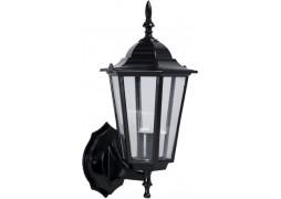 Lampa Gradina Corona Negru 1XE27 60W