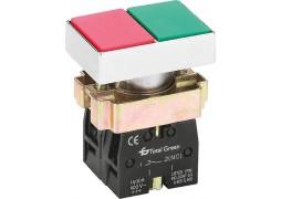 Buton Dublu 1ND+1NI IP40 Culoare Rosu/Verde