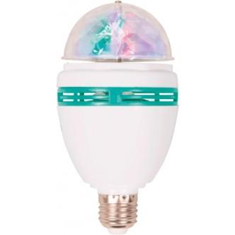 Bec LED Disco 3W E27 Rosu/Verde/Bleu