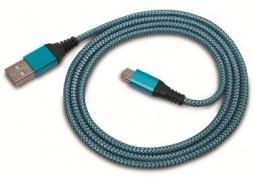 Cablu Date MicroUSB 1A 1M Albastru