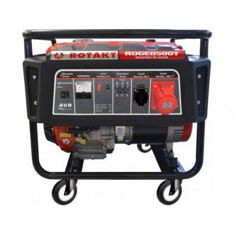 Inchiriere generator de curent Rotakt ROGE8500T, 7.8 KW, trifazic / monofazic
