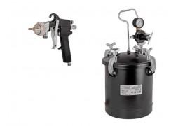 Pistol pneumatic pentru vopsit cu rezervor 10L RD-PT02 Raider