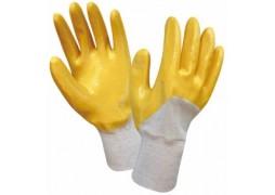 Manusi de bumbac acoperite cu nitril / EN420, EN388 (4111)
