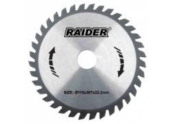 Disc circular pentru lemn 115mm, Raider 163134
