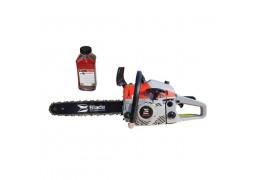 Motoferestrau Blade Alpin 580, 3.4 CP, sina lant 38 cm, gheara masiva cu 4 colti pentru busteni + CADOU Ulei 2T