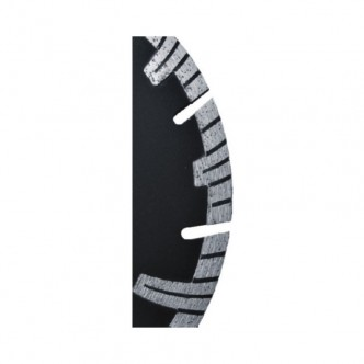Disc diamantat cu segmente TURBO , piatra , beton , 350 / 25,4 mm Dynamic , Dedra