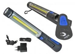 Lanterna reincarcabila 3w COB LED + 3W LED, alimentator USB pentru 230v si 12v DEDRA