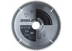 Panza de ferastrau circular cu dinti de vidia pentru aluminiu 200mm X 100mm X 30mm Dedra