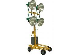 Turn de iluminat 4x1000W, halogen, telescopic Kipor KLJ 1000-4