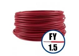 Conductor FY 1.5 - 100 m - Cablu curent cupru plin, disponibil in TOATE CULORILE