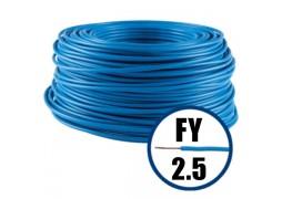 Conductor FY 2.5 - 100 m - Cablu curent cupru plin, disponibil in TOATE CULORILE