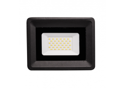 Proiector SMD Slim LED 30W CW Negru