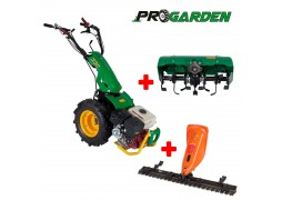 Pachet BT330/G177 motocultor multifunctional 9CP ProGARDEN