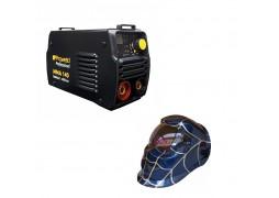 Pachet Invertor de sudura ProWeld MMA-140 Profesional + Masca sudare CADOU valiza transport