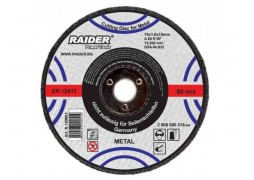 Disc pentru polizare metal 100 x 6 x 16 mm Raider Power Tools