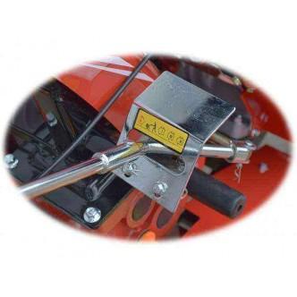Motocultor Rotakt ROG80-T3, 7 CP, 3 viteze, carcasa transmisie fonta, filtru de aer dual, adancime si latime de lucru reglabila, roti cauciuc mari + Cadou ulei