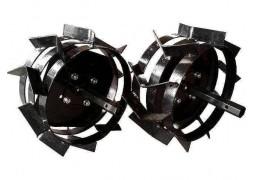 Set roti metalice universale pentru motocultor 40 cm (4.00-8)