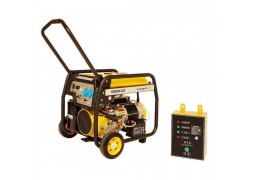 "Generator de curent Stager FD 6500E, benzina Seria ""Open Frame"", 5.0 kW pornire electrica + Automatizare"
