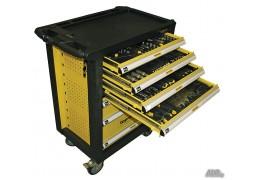 Dulap pentru scule cu 7 sertare echipat cu 220 piese Topmaster Profesional