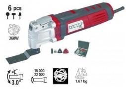 Unealta multifunctionala (renovator) 350 W + accesorii+cutie metalica RDP-OMT02 Raider