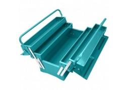 Cutie pentru unelte metalica (trusa) - 3 nivele - Total (INDUSTRIAL)
