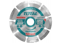 Disc debitare beton, Total, 180mm, taiere umeda / uscata