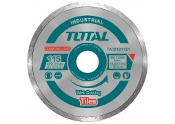 Disc diamantat continuu, ceramica, umed, 115mm Total (INDUSTRIAL)