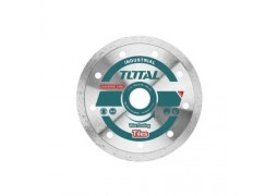 Disc diamantat continuu, ceramica, umed, 125mm Total (INDUSTRIAL)