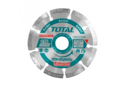 Disc diamantat taiere beton - 115mm Total