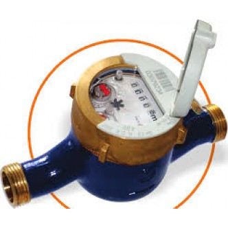 Contor de apa rece (apometru) multijet, mecanism umed FGH 420, R160 ( Clasa C), pre-echipat